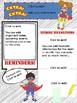 Super-kids Editable Newsletter and Calendar
