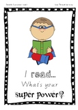 Super power reading sign display BOY