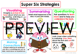 Super-six Reading Comprehension Strategies #BTSFRESH