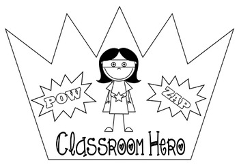 Super student superhero behaviour management