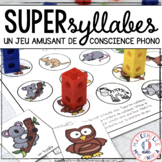 Compter les syllabes (FRENCH Syllable counting practice game)