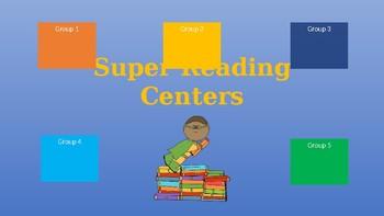 SuperHero Center Rotations (Automatic PowerPoint)