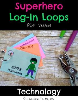 SuperHero Log-In Loops [PDF Version]