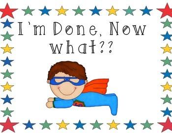 SuperHero Theme I'm Done, now what?