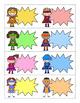 32 Super Hero Task Card Template