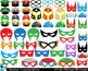 SuperHeros Props - Digital ClipArt Personal Commercial Use