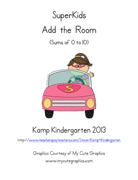 SuperKids Add the Room (Sums of 0 to 10)
