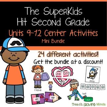 SuperKids Centers Unit 9-12 Bundle