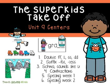 SuperKids Centers Unit 9