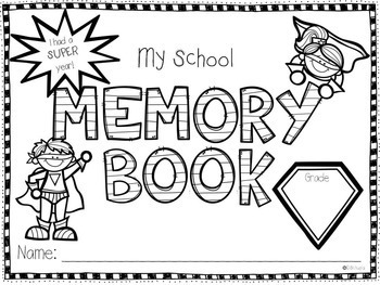 SuperKids Memory Book