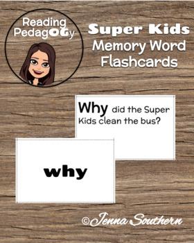 SuperKids Memory Word Flashcards