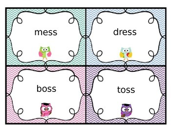 SuperKids Unit 2 Pattern/Memory Words