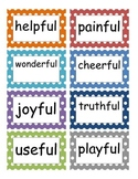 SuperKids Unit 5 Vocab Polka Dots