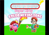 SuperKirby Color Mixing Song - PowerPoint Template -