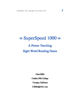 SuperSpeed 1000