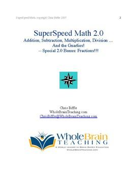 SuperSpeed Math 2.0