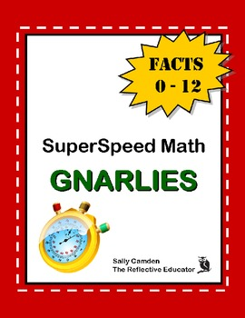 SuperSpeed Math: Gnarlie Facts 0-12