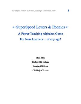 SuperSpeed Phonics