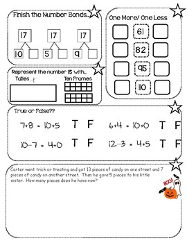 SuperStar Math - Differentiated Weekly Math Review