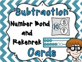 Superb Subtraction Number Bond and Rekenrek Cards
