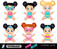 Superbabies clipart , SuperBaby Girls Clipart, for Persona