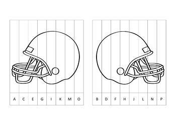 Super Bowl Agamograph Art Activity