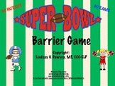 Superbowl Barrier Game- A fun football-themed language activity