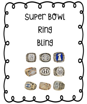 Superbowl Bling