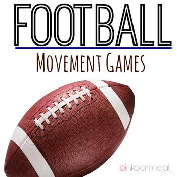 Football Bundle Games and Brain Breaks