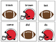 Superbowl Football Dash Primer Dolch Words