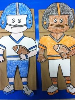 Superbowl Footballl Player Puppets
