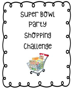 Superbowl Shopping