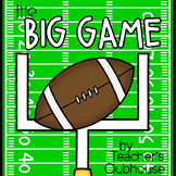 The Big Game (Super Bowl or Football Game Cross Curriculum Activites)