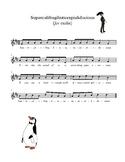 Supercalifragilisticexpialidocious for Violin
