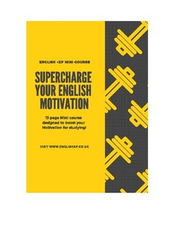 Supercharge your English Motivation