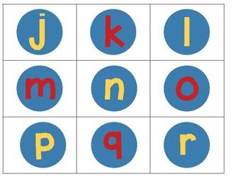 Superfriend Vowel Consonant Spin Game