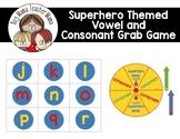 Superfriend Vowel Consonant Grab Game