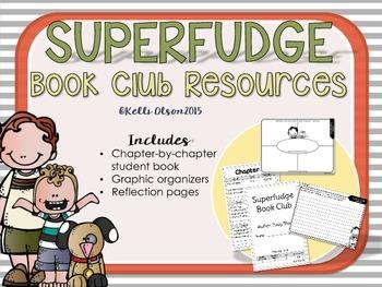 Superfudge Book Club Student Book
