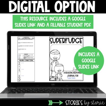 Superfudge Book Questions and Vocabulary