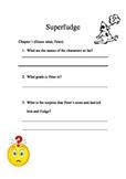 Superfudge Comprehension Packet