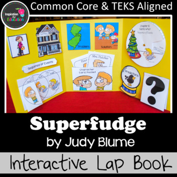 Superfudge Interactive Novel Study (Notebook or Lap Book)