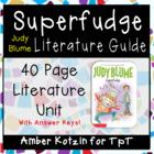 Superfudge Literature Guide (Common Core Aligned) #flamingofriday