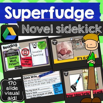 Superfudge Novel Sidekick Picture Power Point