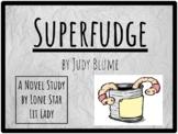 Superfudge Novel Study Response Book