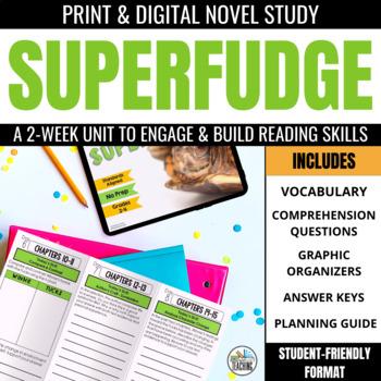 Superfudge Foldable Novel Study Unit