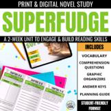 Superfudge Novel Study Unit