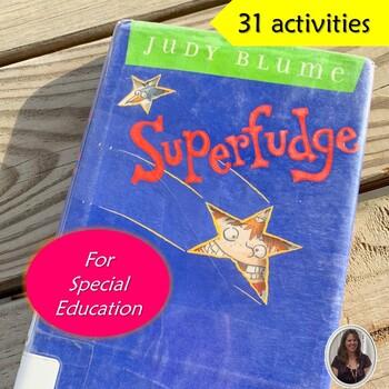 Superfudge Novel Study for Special Education