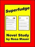 Superfudge Literacy Packet