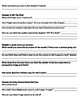 Superfudge Reading Comprehension Packet