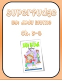Superfudge, by Judy Blume- Chapters 5 to 8